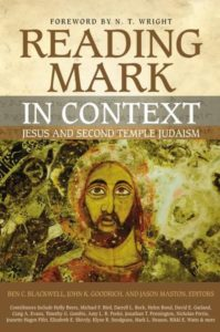 Reading Mark in Context is a great idea!