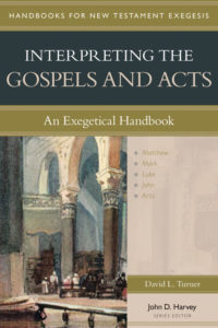 Interpreting the Gospels and Acts: a Journey and a New Book